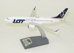 Model Boeing 737-8 MAX LOT SP-LVA Inflight