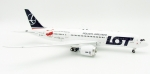 Model Boeing 787 LOT SP-LRH PROMO