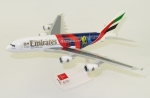 Model Airbus A380 Emirates Cricket 1:250