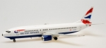 Model Boeing 737 British Airways METALOWY