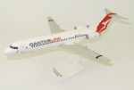 Model Fokker 100 QANTAS 1:100