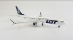 Model Boeing 737MAX8 LOT 1:400 PROMO