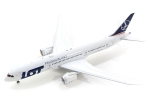 Model Boeing 787-9 LOT SP-LSA with antenna
