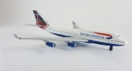 Model Boeing 747-400 British Airways Scotland PROMO