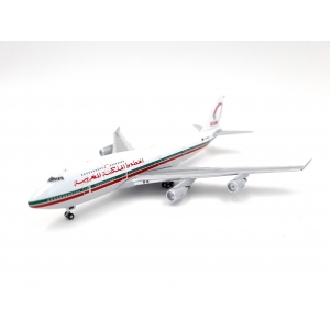Model Boeing 747-400 Royal Air Maroc 1:500